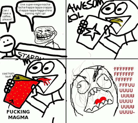 Rage Comic Fuuuu Face
